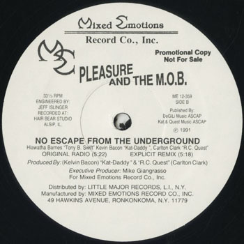 HH_PLEASURE AND THE MOB_NO ESCAPE FROM THE UNDERGROUND_20180504