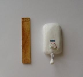 湯沸かし器と取り付け板