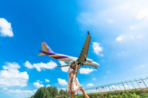 プーケット飛行機写真