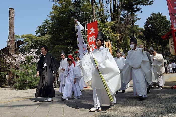 ちゃんちゃん祭り 宵宮渡り2