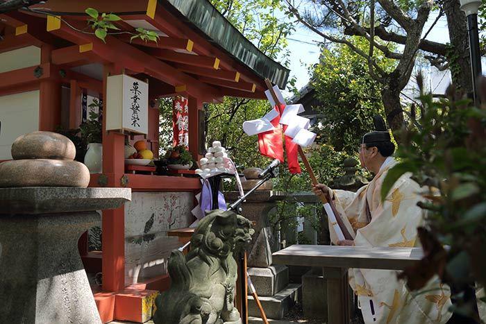 漢国神社 饅頭まつり2
