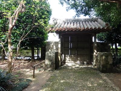 南国クルーズ123沖縄識名園正門
