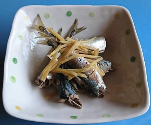 サバゴ生姜煮