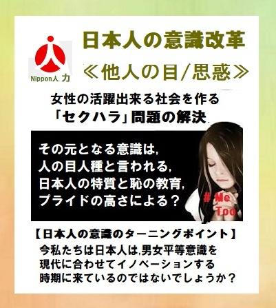 日本人の意識改革