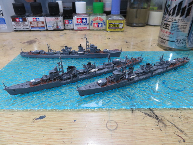 第21駆逐隊 1/700 ピットロード