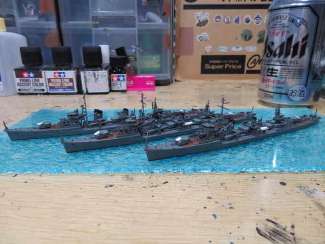 第17駆逐隊 1/700 フジミ