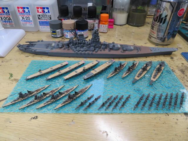 集める軍艦シリーズ 1、2、3、4