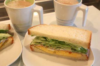 エシレバターでサンドイッチ