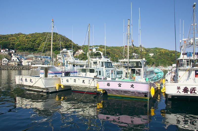 小さな漁港の風景