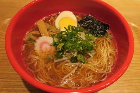 ちりめん亭(煮干しラーメン)