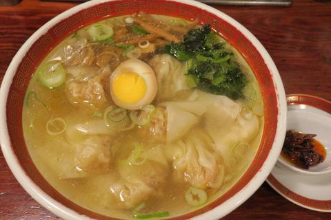 広州市場(雲呑拉麺)