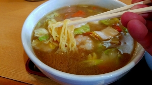 とやの 広東麺 麺スープ