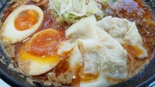 鶏処 担々麺 具