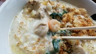 おぎかわ山の下 麺グラタン 具