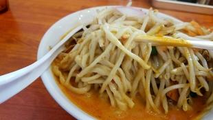 フタツメ ラージョー味噌タンメン 麺