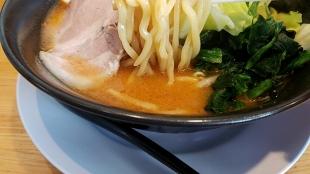 奥村家 辛味噌豚骨ラーメン 麺スープ