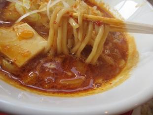 燈 辛麺 麺スープ