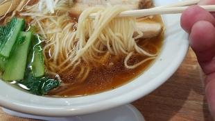 かかし 香味中華ソバ 麺スープ