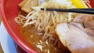 なおじ蓮潟 海老ラーメン 麺スープ