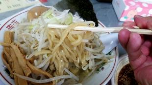 こころ つけ麺 麺