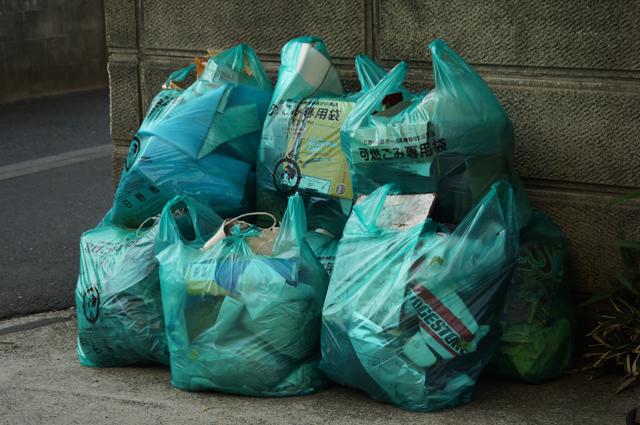 日野の特大ゴミ袋でこんなにゴミ出ました