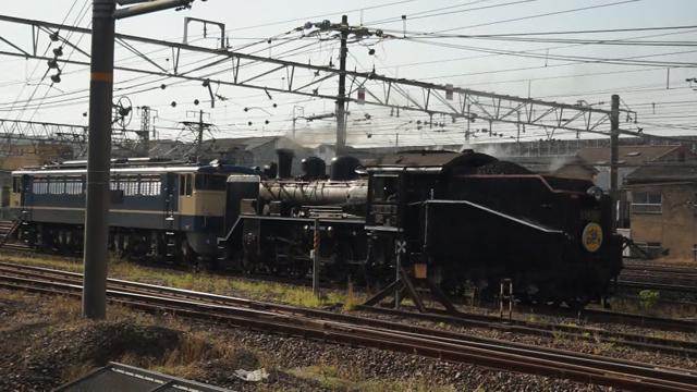 京都駅へ向かうC56