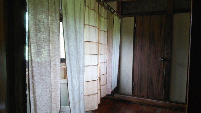 鎌田鳥山 現在のトイレ