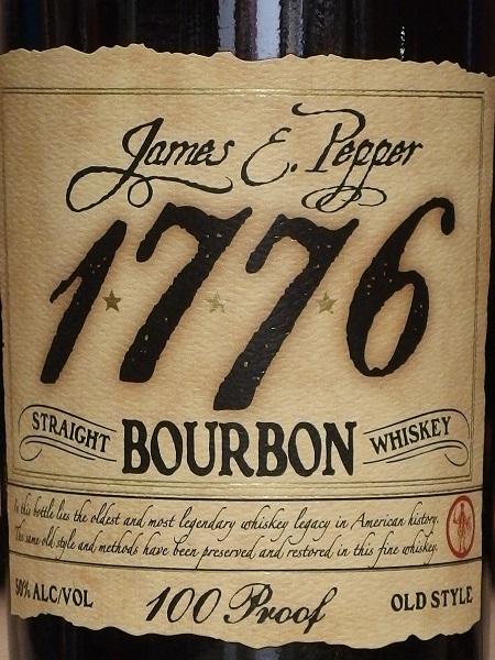 JAMES E PEPPER 1776_L600
