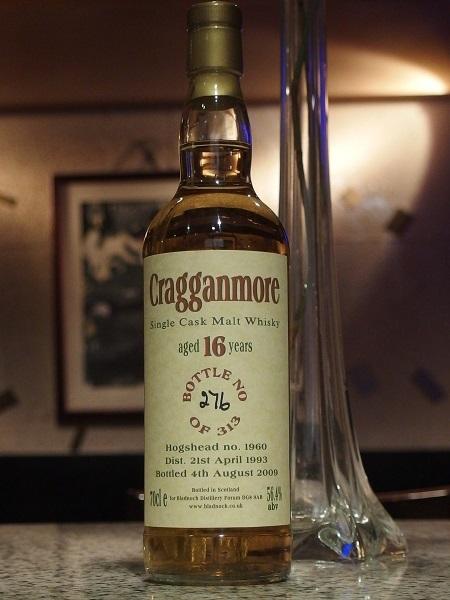 Bladnoch Distillery Forum CRAGGANMORE 16y_600