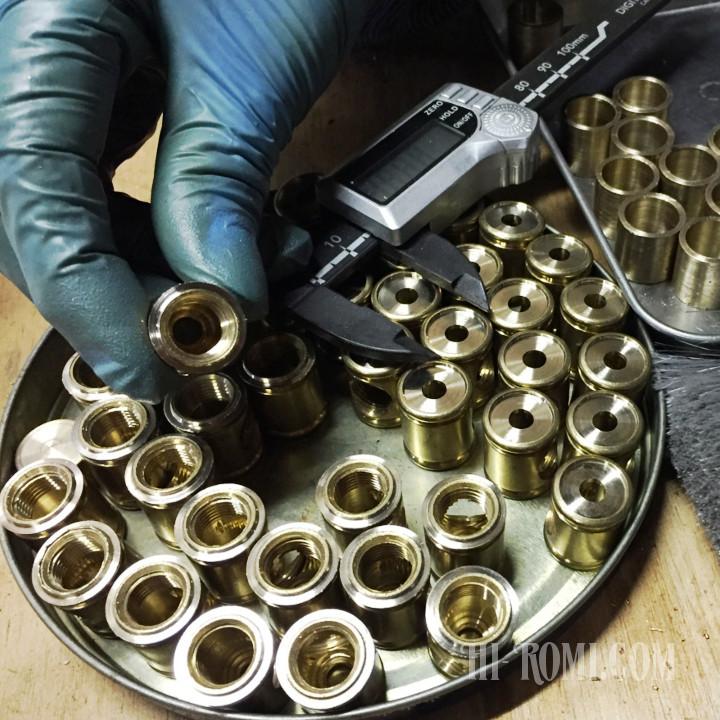 金属加工・切削・旋盤加工・真鍮