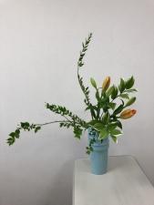 瓶花傾斜型2