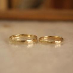 10金 結婚指輪