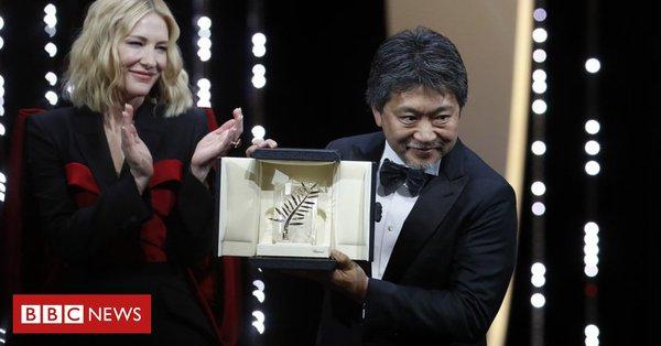 「万引き家族」に最高賞 カンヌ国際映画祭