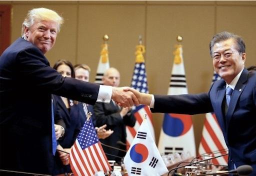 米韓首脳が会談