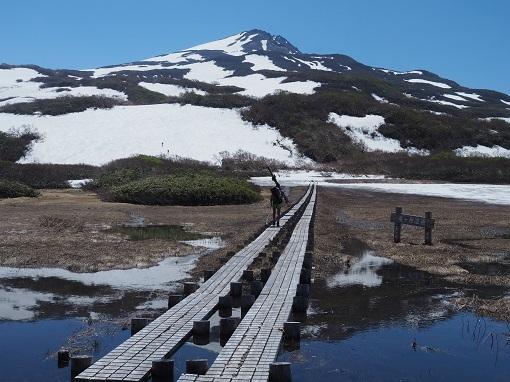 祓川山荘からの鳥海山