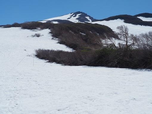 晴天の鳥海山