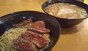 18マッスルアクアパラダイス5ローストビーフつけ麺