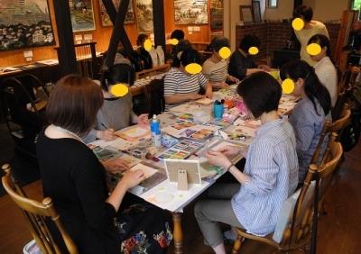 20180517パステル画教室