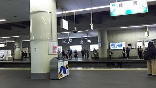 20171127高松駅へ(その1)