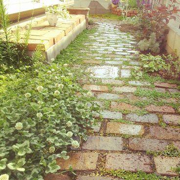 1f84d15e9cfb1ef0814aefb9811512ed--garden-paving-ガーデニング-diy
