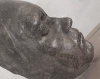 ベートーヴェンのデスマスク(ミュージアム所蔵)