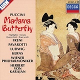 プッチーニ:歌劇「蝶々夫人 」カラヤン ウィーンフィル、フレーニ、パヴァロッティ