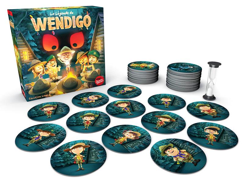 ウェンディゴ:箱と内容物