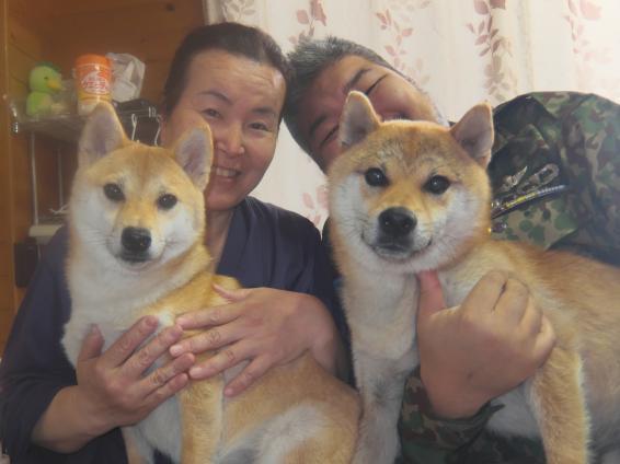 忍、涼さん家族