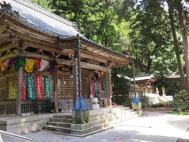 赤後寺と日吉神社