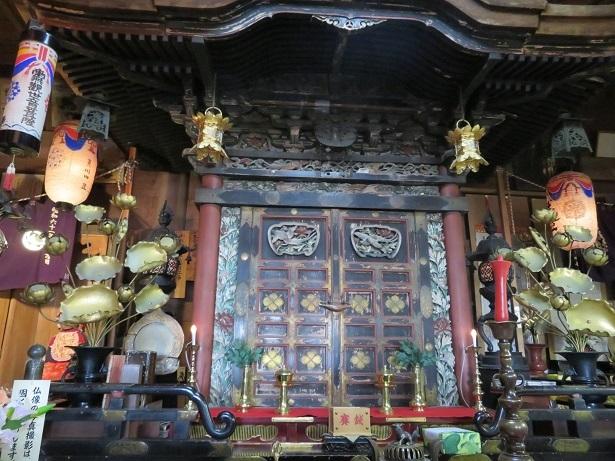 赤後寺の厨子