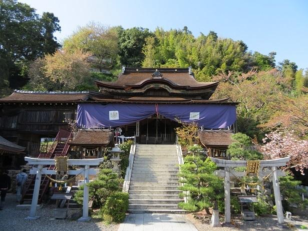 竹生島 都久夫須麻神社本殿
