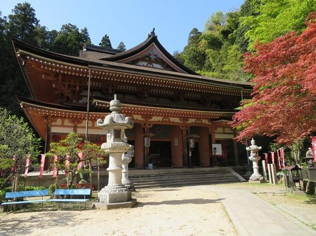 竹生島 宝厳寺本堂