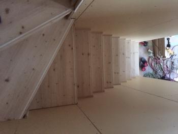 階段の施工②