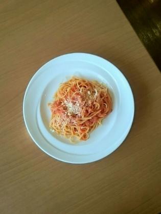 ココスペコリチーズのトマトスパゲティ